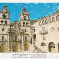 Postales: POSTAL AS ERMITAS SANTUARIO (OURENSE). FAMA. VIGO. Lote 176574424
