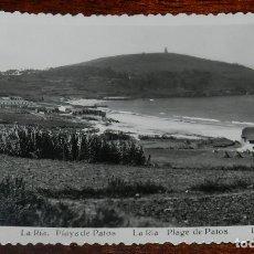 Postales: FOTO POSTAL DE VIGO, LA RIA. PLAYA DE PATOS, ED. L. ROISIN, N. 233, NO CIRCULADA.. Lote 177029244