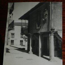 Postales: FOTO POSTAL DE PONTEVEDRA, PLAZA DEL TEUCRO, NO CIRCULADA.. Lote 177033503