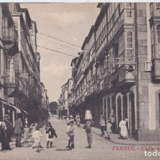 Postales: EL FERROL (LA CORUÑA) - CALLE DE GALIANO - EDICIÓN COUCE. Lote 177081369