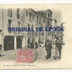 Postales: (PS-61745)POSTAL DE PONTEVEDRA-UNE RUE.UNA CALLE. Lote 177289143