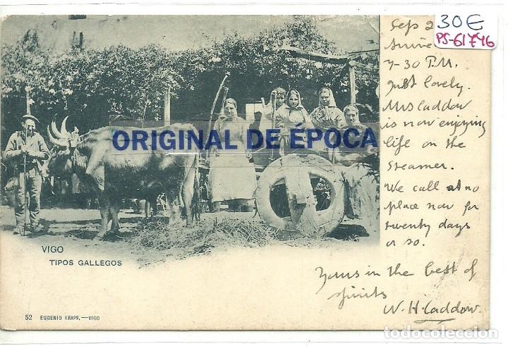 (PS-61746)POSTAL DE VIGO-TIPOS GALLEGOS.EUGENIO KRAPF (Postales - España - Galicia Moderna (desde 1940))