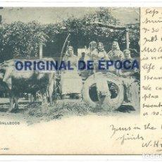 Postales: (PS-61746)POSTAL DE VIGO-TIPOS GALLEGOS.EUGENIO KRAPF. Lote 177289247