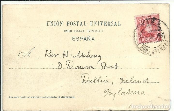 Postales: (PS-61746)POSTAL DE VIGO-TIPOS GALLEGOS.EUGENIO KRAPF - Foto 2 - 177289247