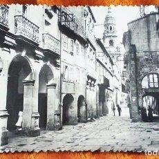 Postales: SANTIAGO DE COMPOSTELA. RÚA DEL VILLAR. SIN CIRCULAR.. Lote 177339164