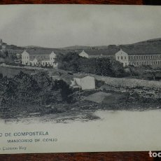 Postales: POSTAL DE SANTIAGO DE COMPOSTELA, MANICOMIO DE CONJO, REVERSO SIN DIVIDIR, 1. PROPIEDAD DE CARMEN RE. Lote 177659419