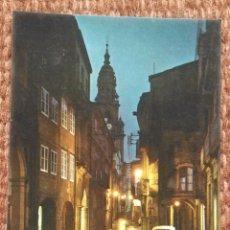 Postales: SANTIAGO DE COMPOSTELA - RUA DEL VILLAR. Lote 177982194