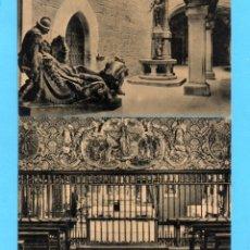 Postales: CUATRO POSTALES DE SANTIAGO DE LOYOLA EDITO HIJA DE J. IRAZU SIN CIRCULAR. Lote 178008114