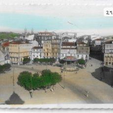 Cartes Postales: BETANZOS - PLAZA HERMANOS GARCÍA NAVEIRA - P29557. Lote 178048835
