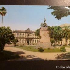 Postales: PONTEVEDRA MONUMENTO A LOS HEROES DEL PUENTE SAMPAYO. Lote 178625027