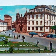 Postales: TARJETA POSTAL CIRC. Nº 373. LUGO. CALLE Y PUERTA DE SAN FERNANDO - IGLESIA DE SAN FRO. ED. PARIS. Lote 178739211