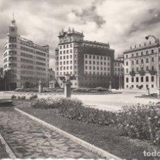 Postales: POSTAL: EL FERROL DEL CAUDILLO. PLAZA DE ESPAÑA. Lote 178791101