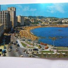 Postales: TARJETA POSTAL - GALICIA - CORUÑA - PLAZA DE RIAZOR № 190. Lote 178887845