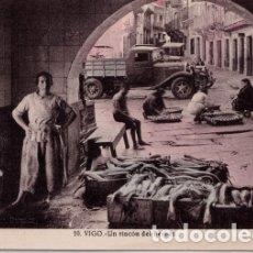 Postales: VIGO (PONTEVEDRA) - UN RINCON DEL BERBES. Lote 179042177