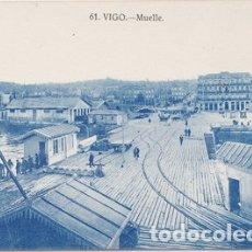 Postales: VIGO (PONTEVEDRA) - MUELLE. Lote 179042271