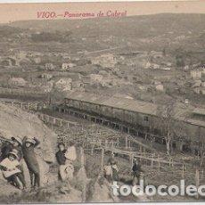 Postales: VIGO (PONTEVEDRA) - PANORAMA DE CABRAL. Lote 179042405