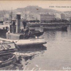 Postales: VIGO (PONTEVEDRA) - VISTA DESDE LOS NUEVOS MUELLES. Lote 179042608