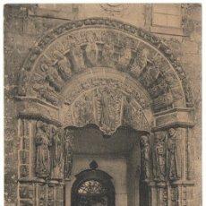Postales: POSTAL SANTIAGO PUERTA DEL ANTIGUO COLEGIO DE SAN JERÓNIMO . Lote 179169438