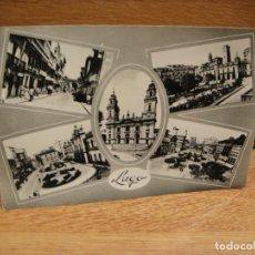 Postales: LUGO - EDICIONES ARRIBAS - FRANQUEADA 1960. Lote 179204962
