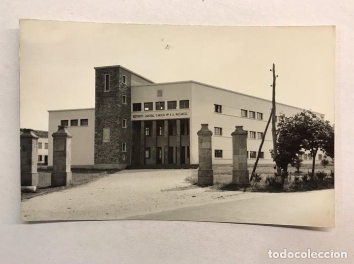 RIBADEO (LUGO) POSTAL INSTITUTO LABORAL. EDITA: ED. GOMEZ, LUARCA. CASA RESTREPO, VEGADEO - RIBADEO (Postales - España - Galicia Moderna (desde 1940))