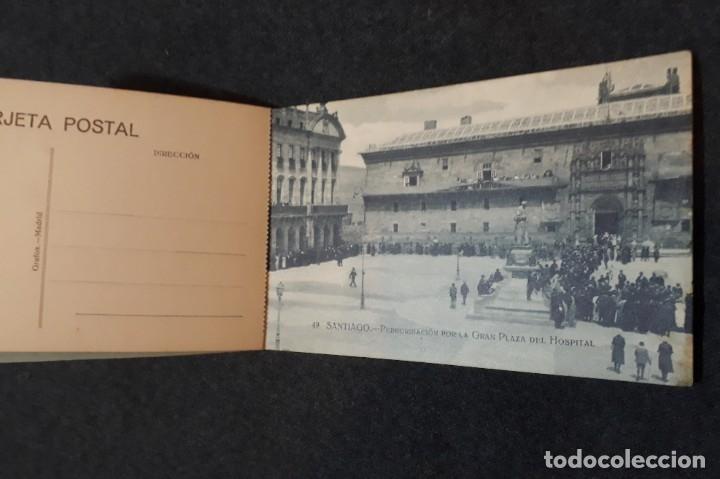 Postales: Recuerdo de Santiago 15 vistas postales - Foto 2 - 180514353
