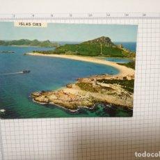 Postales: POSTAL Nº 3179 - GALICIA - VIGO, ISLAS CIES, RIA DE VIGO 1971. Lote 181024700