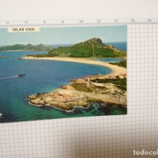 Postales: POSTAL Nº 3179 - GALICIA - VIGO, ISLAS CIES, RIA DE VIGO 1971. Lote 181024725