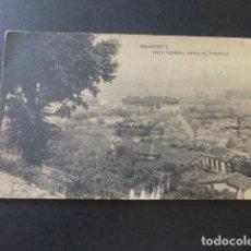 Postales: MONFORTE LUGO VISTA GENERAL DESDE EL CASTILLO. Lote 181393167