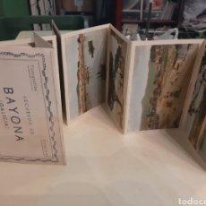 Postales: POSTALES BAYONA GALICIA EDICIÓN CARRASCO 8 POSTALES. Lote 181596227