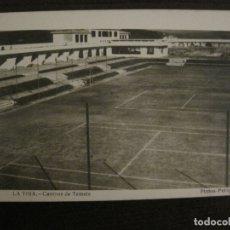 Postales: LA TOJA-CAMPOS DE TENIS-POSTAL FOTOGRAFICA-FOTOGRAFO PINTOS-VER FOTOS-(63.682). Lote 181798306