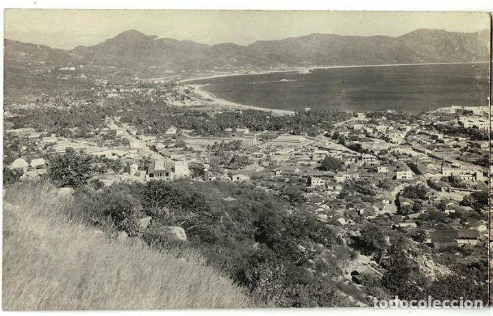Postales: Vigo - Triple Postal fotográfica - panorámica 41 cm x 8,3 cm (Pontevedra, Galicia) Navarro Fot. - Foto 2 - 181964230