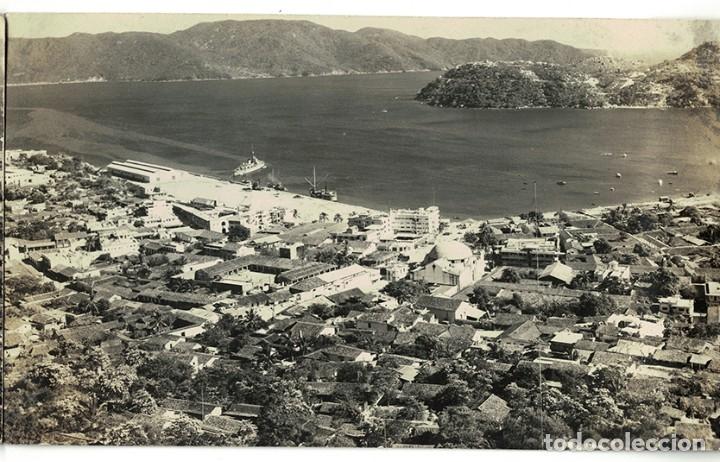 Postales: Vigo - Triple Postal fotográfica - panorámica 41 cm x 8,3 cm (Pontevedra, Galicia) Navarro Fot. - Foto 3 - 181964230