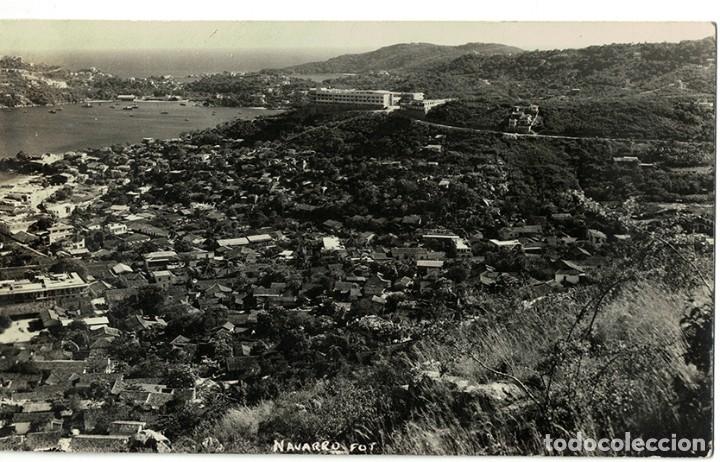Postales: Vigo - Triple Postal fotográfica - panorámica 41 cm x 8,3 cm (Pontevedra, Galicia) Navarro Fot. - Foto 5 - 181964230