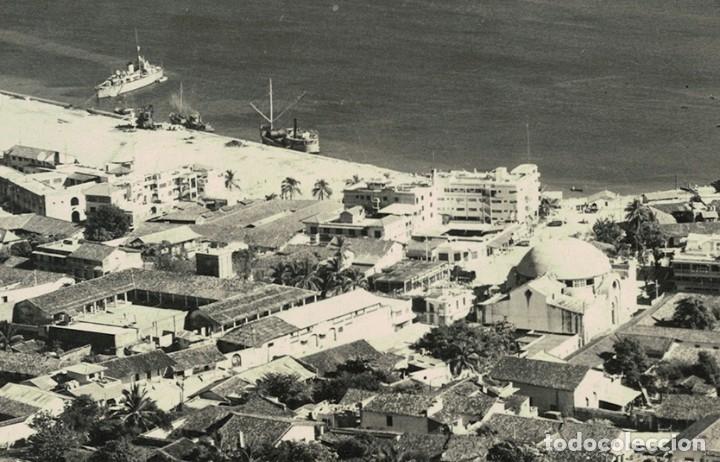 Postales: Vigo - Triple Postal fotográfica - panorámica 41 cm x 8,3 cm (Pontevedra, Galicia) Navarro Fot. - Foto 6 - 181964230