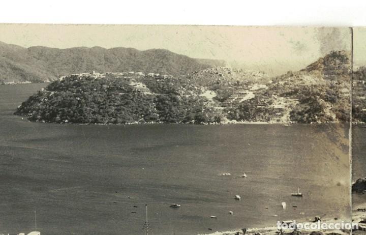 Postales: Vigo - Triple Postal fotográfica - panorámica 41 cm x 8,3 cm (Pontevedra, Galicia) Navarro Fot. - Foto 8 - 181964230