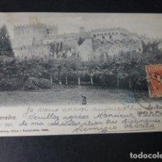 Postales: PONTEVEDRA CASTILLO DE MOS. Lote 182288376