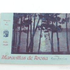 Postales: VILLAGARCIA DE AROSA, OCTUBRE DE 1946, MARAVILLAS DE AROSA, EDITOR RAMON PORTO CASA, MIDE 17 X 12 CM. Lote 182583460