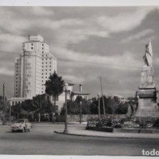 Postales: VIGO PLAZA DE ESPAÑA Y RESIDENCIA SANITARIA. Lote 182675791
