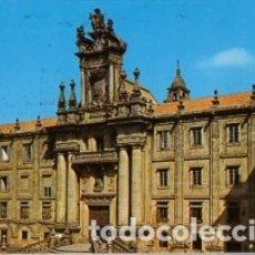 Postales: SANTIAGO DE COMPOSTELA Nº 75 FACHADA SEMINARIO MAYOR -SIN CIRCULAR-PUBLICITARIA IMPRESA DORSO (FOTO). Lote 182876980