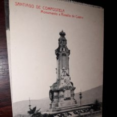 Postales: Nº 33192 POSTAL SANTIAGO DE COMPOSTELA FOTOTIPIA THOMAS MONUMENTO A ROSALIA DE CASTRO. Lote 182959261