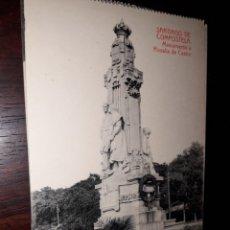 Postales: Nº 33191 POSTAL SANTIAGO DE COMPOSTELA FOTOTIPIA THOMAS MONUMENTO A ROSALIA DE CASTRO. Lote 182959418