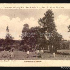 Postales: ALREDEDORES ORENSE SALGADO N°16 TARJETA POSTAL GALICIA CA.1900 EDICION ARGENTINA. Lote 182974836