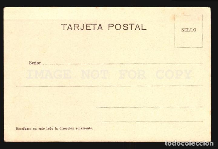 Postales: Pescando Truchas Orense Salgado N°24 Tarjeta postal Galicia Ca.1900 Edicion Argentina - Foto 2 - 182975160
