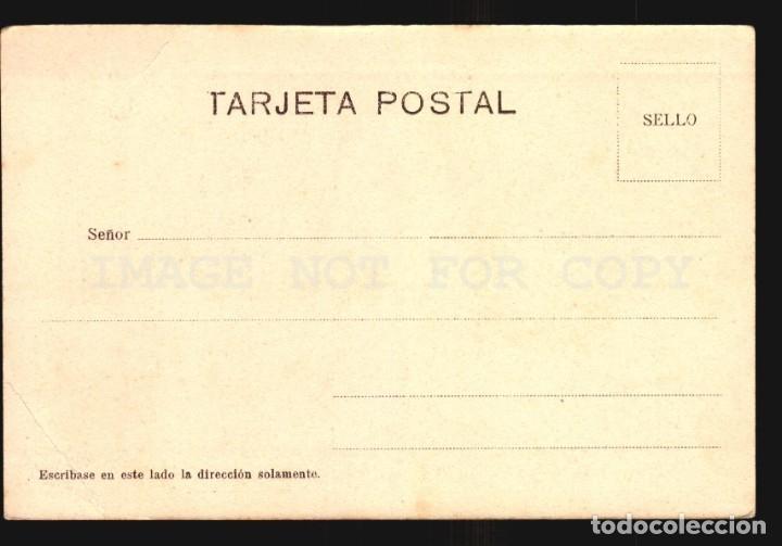 Postales: Pescador de red Orense Salgado N°38 Tarjeta postal Galicia Ca.1900 Edicion Argentina - Foto 2 - 182975810