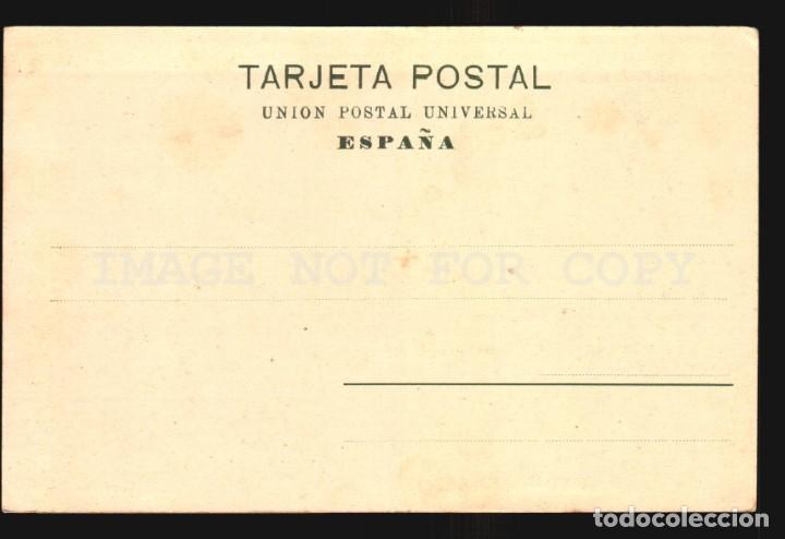 Postales: La coruña N°14029. Parrote. Papeleria Lombardero Foto Avrillon Reverso sin dividir impecable sin uso - Foto 2 - 182983431