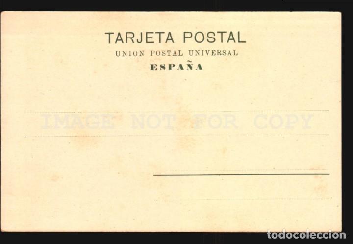 Postales: La coruña N°14018 Muelle Papeleria Lombardero Foto Avrillon Reverso sin dividir impecable sin uso - Foto 2 - 182983510