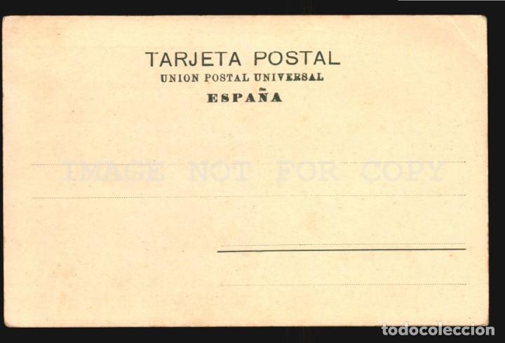 Postales: La coruña N°14027 Iglesia Jesuitas Papeleria Lombardero Foto Avrillon Reverso sin dividir sin uso - Foto 2 - 182984212