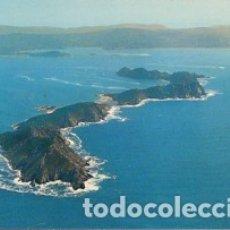 Postales: GALICIA - Nº 3612 ISLAS CIES - RIA DE VIGO - AÑO 1974 - SIN CIRCULAR. Lote 182992448