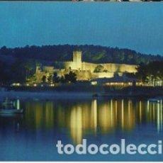 Postales: GALICIA - PONTEVEDRA - Nº 3465 BAYONA LA REAL CASTILLO DE MONTERREAL NOCTURNA - CIRCULADA CON SELLO. Lote 182995837