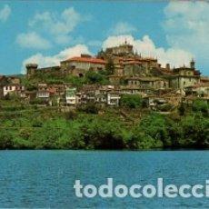 Postales: GALICIA - PONTEVEDRA - Nº 3357 TUY - VISTA PARCIAL CON EL RIO MIÑO - AÑO 1972 - SIN CIRCULAR. Lote 182997552
